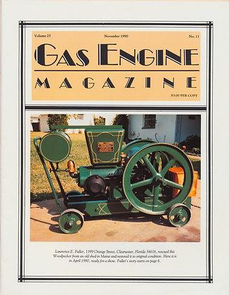 Gas Engine Mag.  November 1990