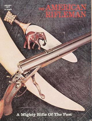 American Rifleman January 1972