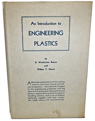 An Introduction to Engineering Plastics 1947