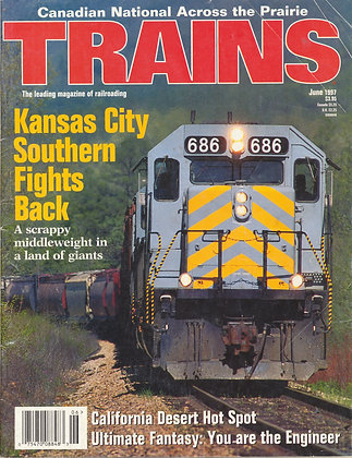 TRAINS, June 1997