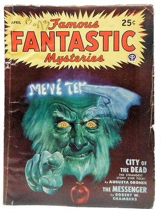 Famous Fantastic Mysteries, April 1948