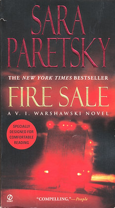 Fire Sale (V.I. Warshawski Novel) by Sara Paretsky 2006