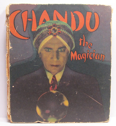 CHANDU THE MAGICIAN Adapted from the Photoplay 1935
