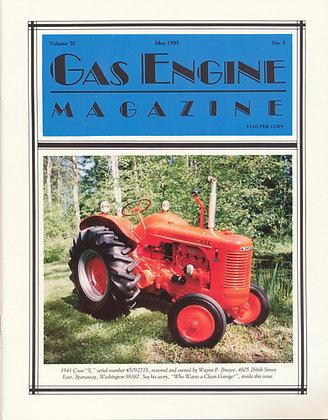 Gas Engine Mag.  May 1995
