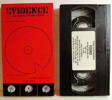 EVIDENCE: The case for NASA UFOs (PART TWO) VHS