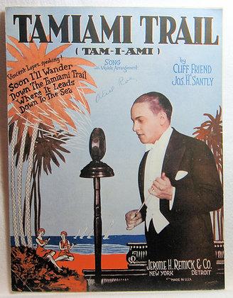 TAMIAMI TRAIL (TAM-I-AMI) SONG (Ukulele) 1926