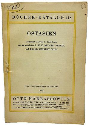 Bucher Katalog 448 Ostasien 1933 (German)