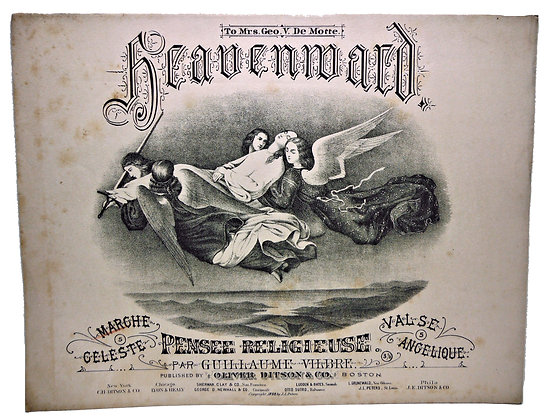 Heavenward Pensee Religieuse 1868