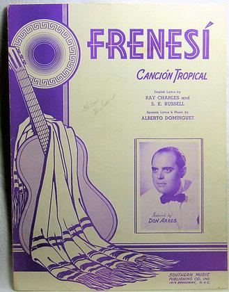 FRENESI CANCION TROPICAL 1939