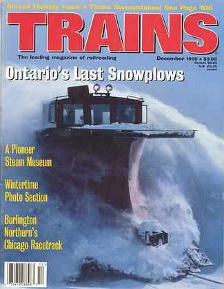 TRAINS, December 1995