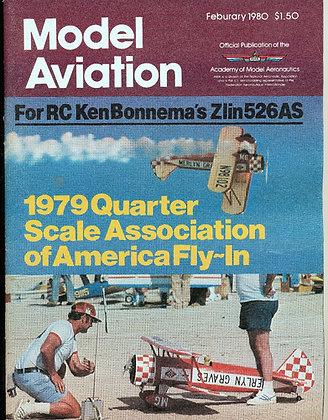 Model Aviation (Feb. 1980) Quarter-Scale