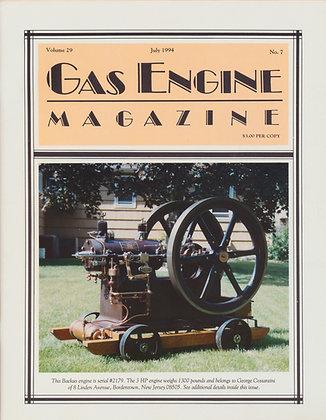 Gas Engine Mag.  July 1994