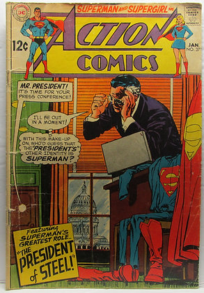 ACTION COMICS, No. 371, January, 1969