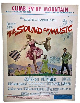 Climb Ev'ry Mountain Sound of Music 1959