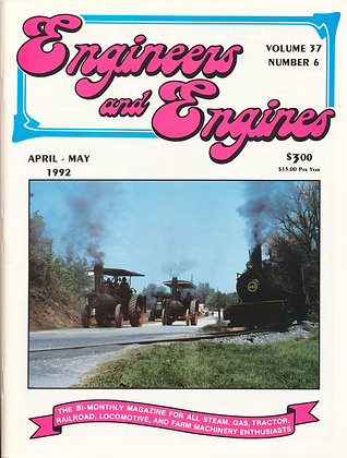 Engineers & Engines, April-May 1992