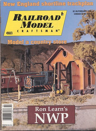 Railroad Model Craftsman, February 1995
