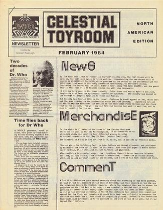 Celestial Toyroom Doctor Who February 1984