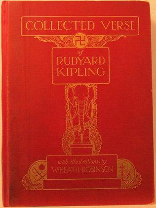 Collected Verse of RUDYARD KIPLING 1910 (w/color illus.)