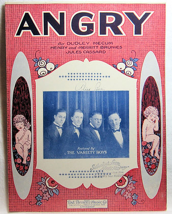 ANGRY DUDLEY MECUM 1925