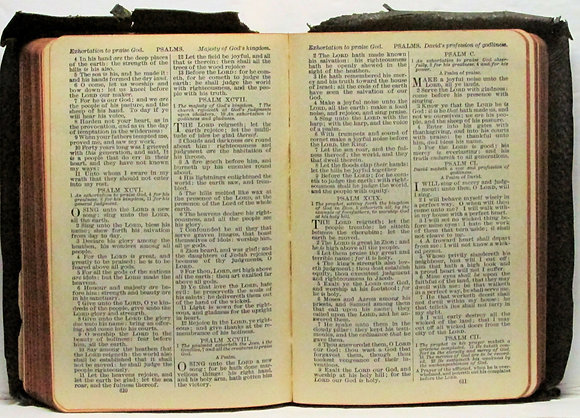 1914 Soft Leather Holy Bible (WW1)