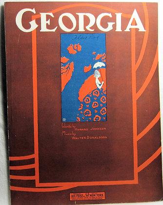 GEORGIA HOWARD JOHNSON 1933