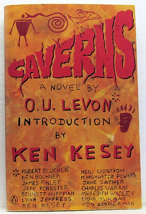 CAVERNS: A Novel by O.U. Levon