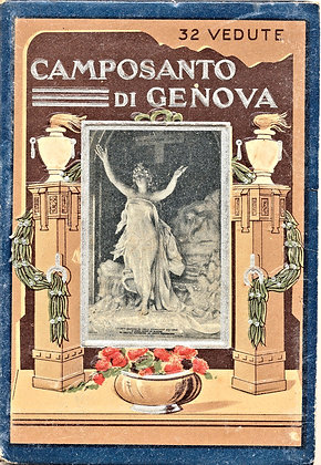 Camposanto di Genova 32 Vedute (ca. 1930)