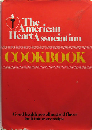 American Heart Association Cookbook by Hampson 1971