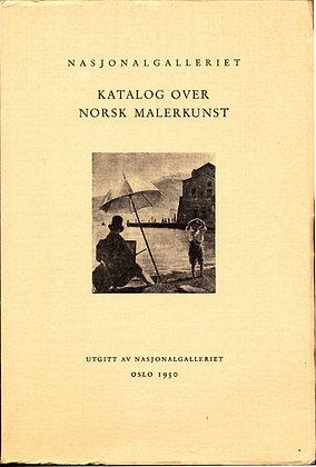 Nasjonalgalleriet Katalog Over Norsk (Norwegian) 1950 Paintings