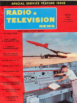 Radio & Television News, March 1956