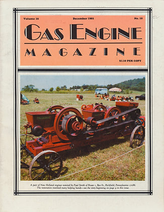 Gas Engine Mag.  December 1985