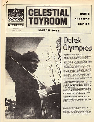 Celestial Toyroom Doctor Who March 1984