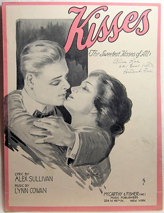 Kisses (The Sweetest Kisses of All) 1918