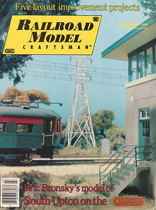 Railroad Model Craftsman, March 1985