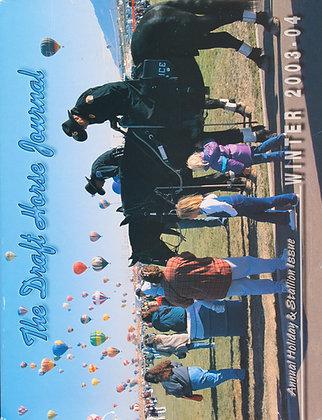 Draft Horse Journal Winter 2003-04
