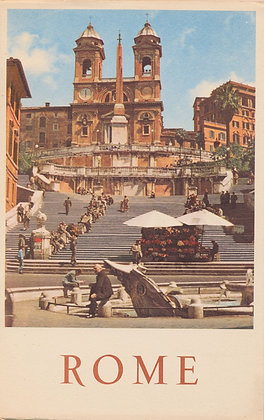 ROME by Wladimir D'Ormesson & Pierre Jahan 1953