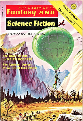 Fantasy and Science Fiction (January 1974)
