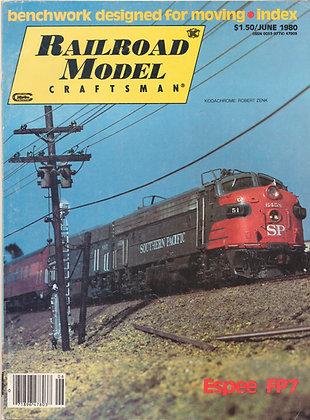 Railroad Model Craftsman, June 1980