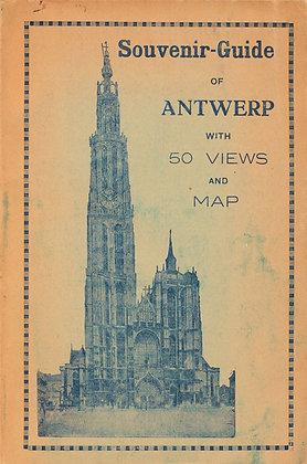 Antwerp Souvenir-Guide with 50 Views & Map (ca. 1900) Belgium