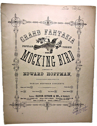 Grand Fantasia Mocking Bird 1864