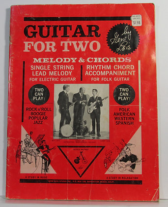 GUITAR for TWO (Melody & Chords) by Gene Leis 1966