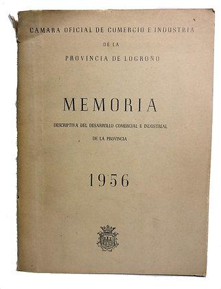 Provincia De Logrono Industria 1956 (Spanish)