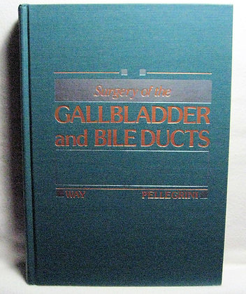 Surgery of the Gallbladder & Bile Ducts 1987