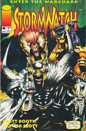 Stormwatch #4, 1993