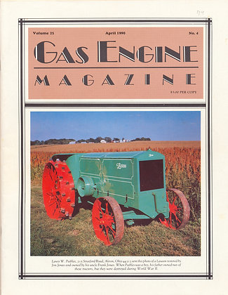 Gas Engine Mag.  April 1990
