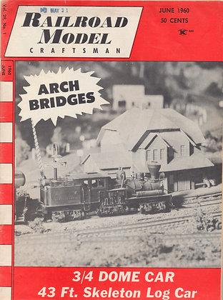Railroad Model Craftsman, June 1960