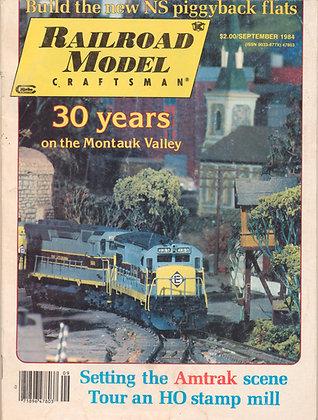 Railroad Model Craftsman, Sept. 1984