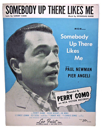 Somebody Up There Likes Me Paul Newman 1956
