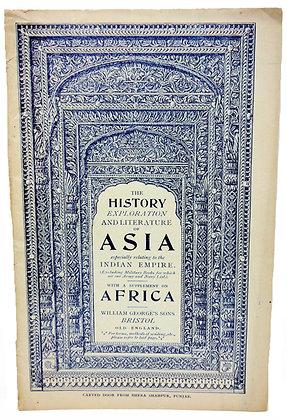 History Exploration & Literature of Asia (ca. 1930)
