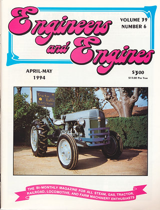 Engineers & Engines, April-May 1994
